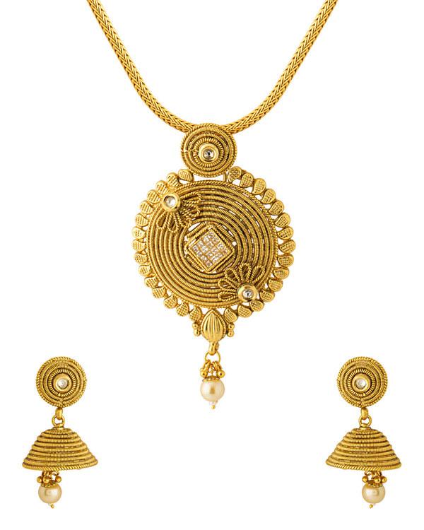 Buy designer pendants designer pendants set with floral design designer pendants set with floral design aloadofball Image collections