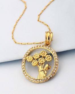 Buy designer pendants charming star design pendant with chain for product image aloadofball Images