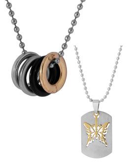 Upto 50 off on men pendants buy stylish and trendy pendants classy combo pack of pendants aloadofball Image collections