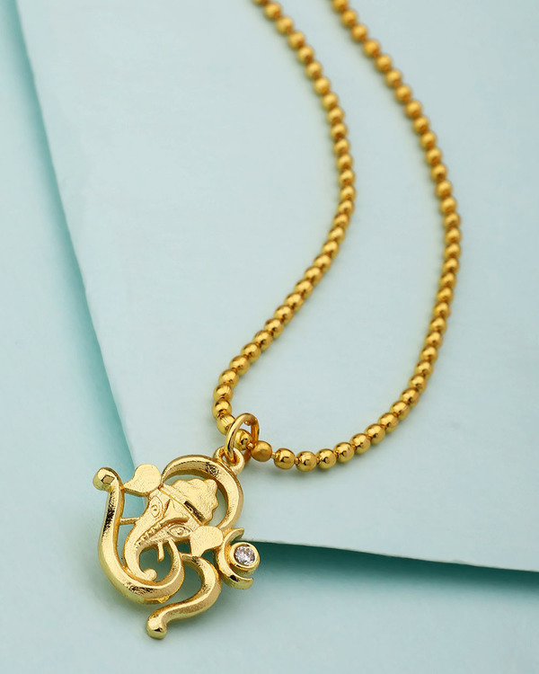 Buy designer mens pendants om designer lord ganesh pendant with om designer lord ganesh pendant with chain mozeypictures Gallery